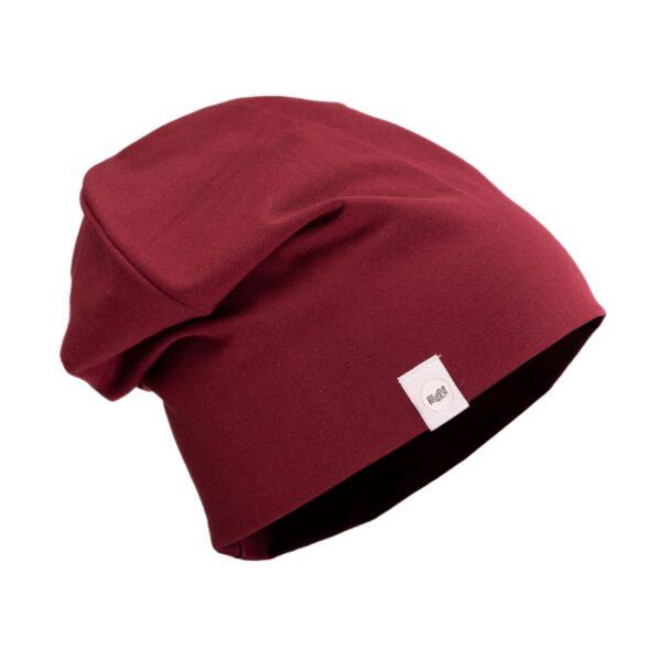 bordoopunane-müts