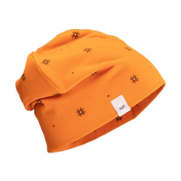 oranz-puuvillane-muhu-muts