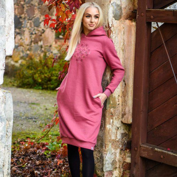 naiste-dresskleit-kapuutsiga-taskutega